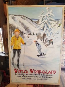 Vintage Poster Painting